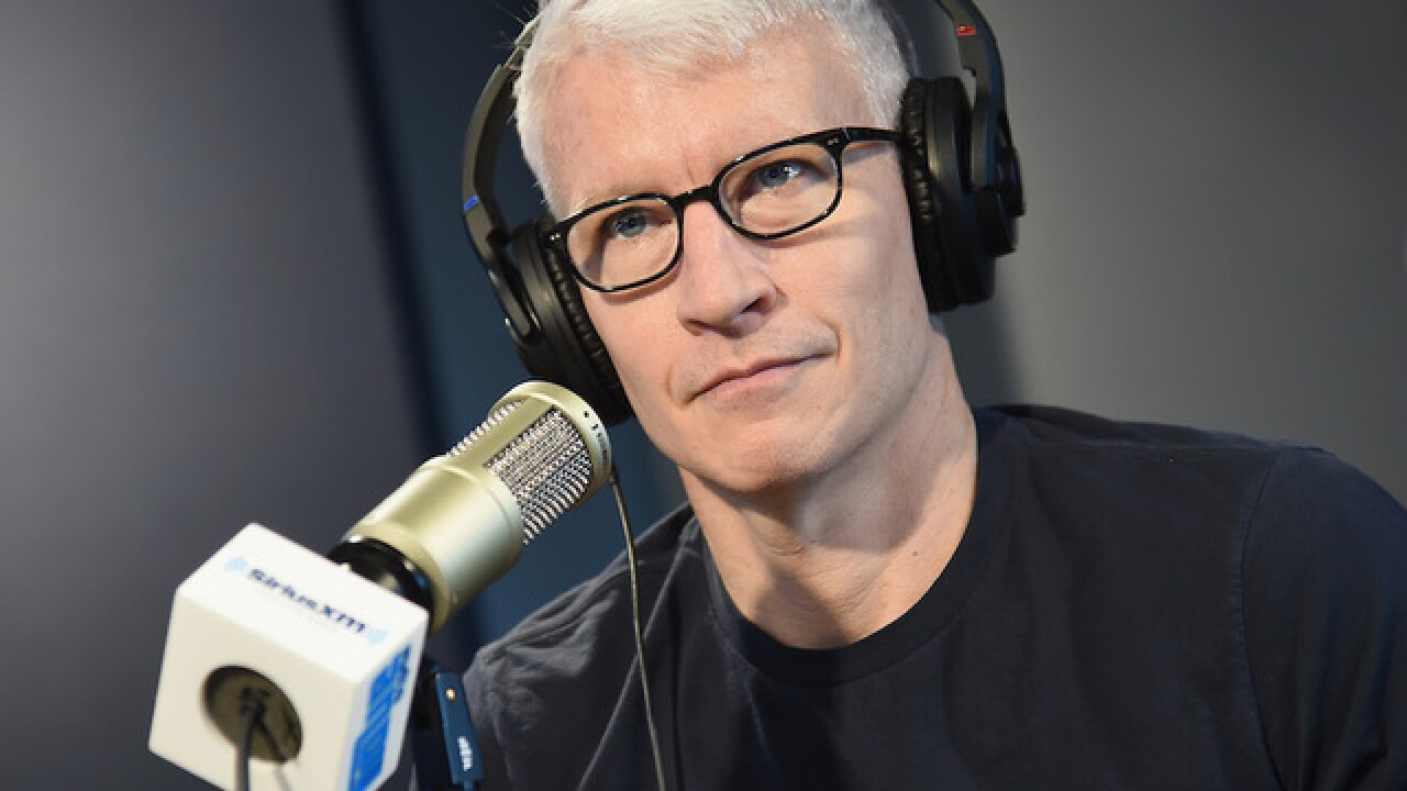 Anderson Cooper apologizes for 'crude' remark aimed at guest on CNN show