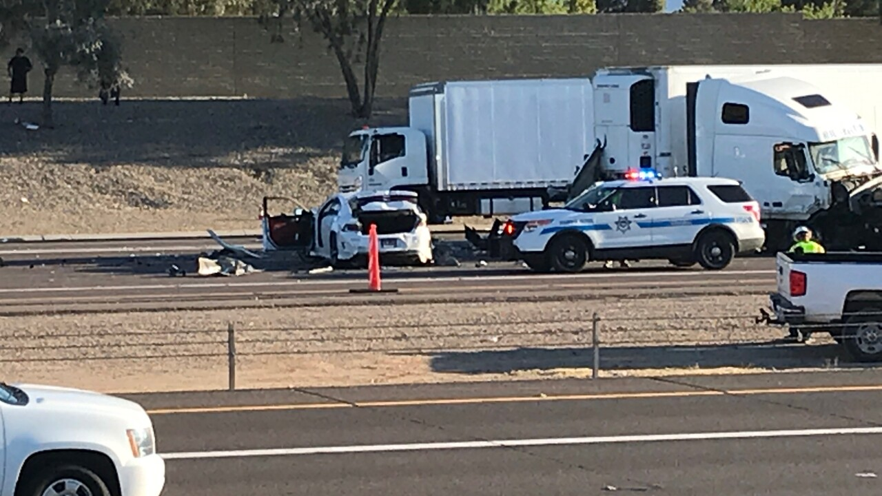 DPS: 1 killed in 7-vehicle crash on I-10 Saturday