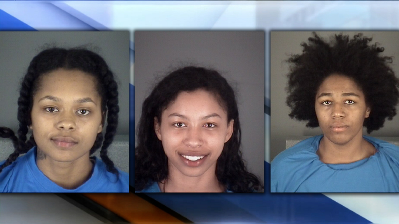 Three naked women lead Florida troopers on wild chase