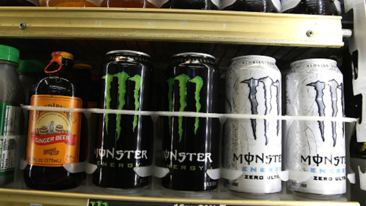 Five arrested for stealing $5K in energy drinks