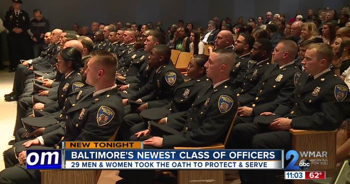Baltimore's newest class of officers