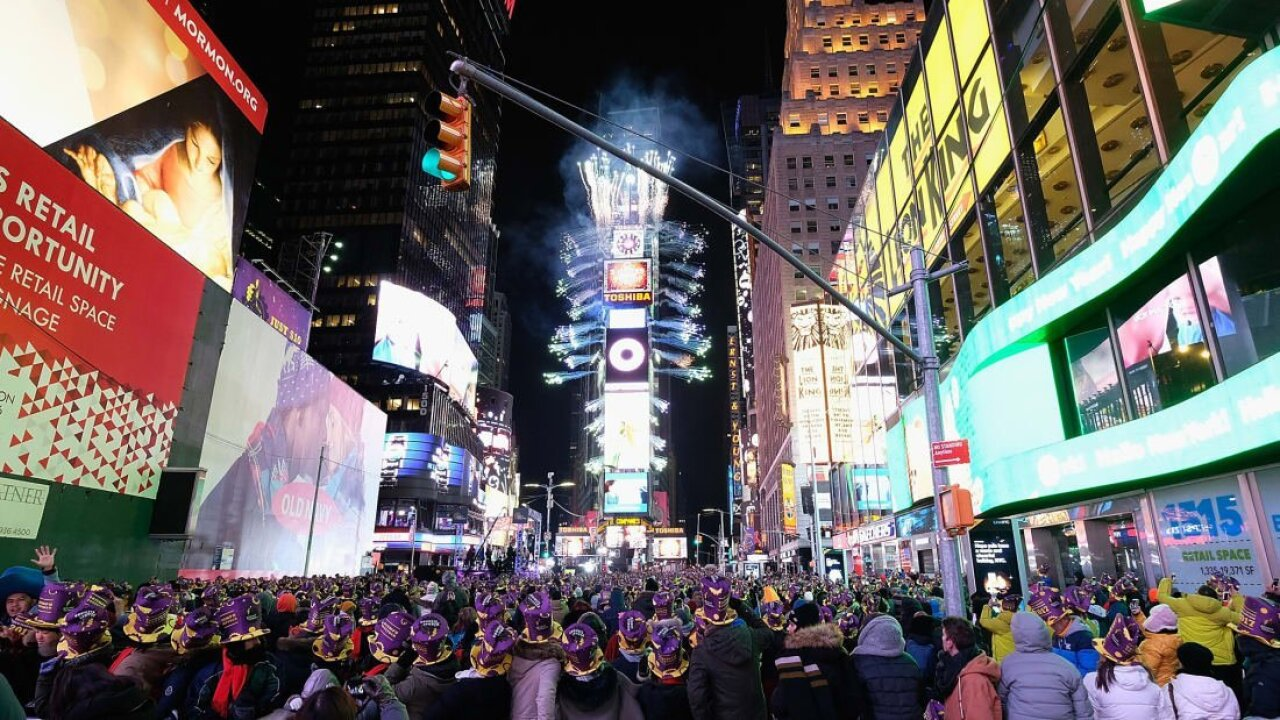 10 great places to spend New Year's Eve