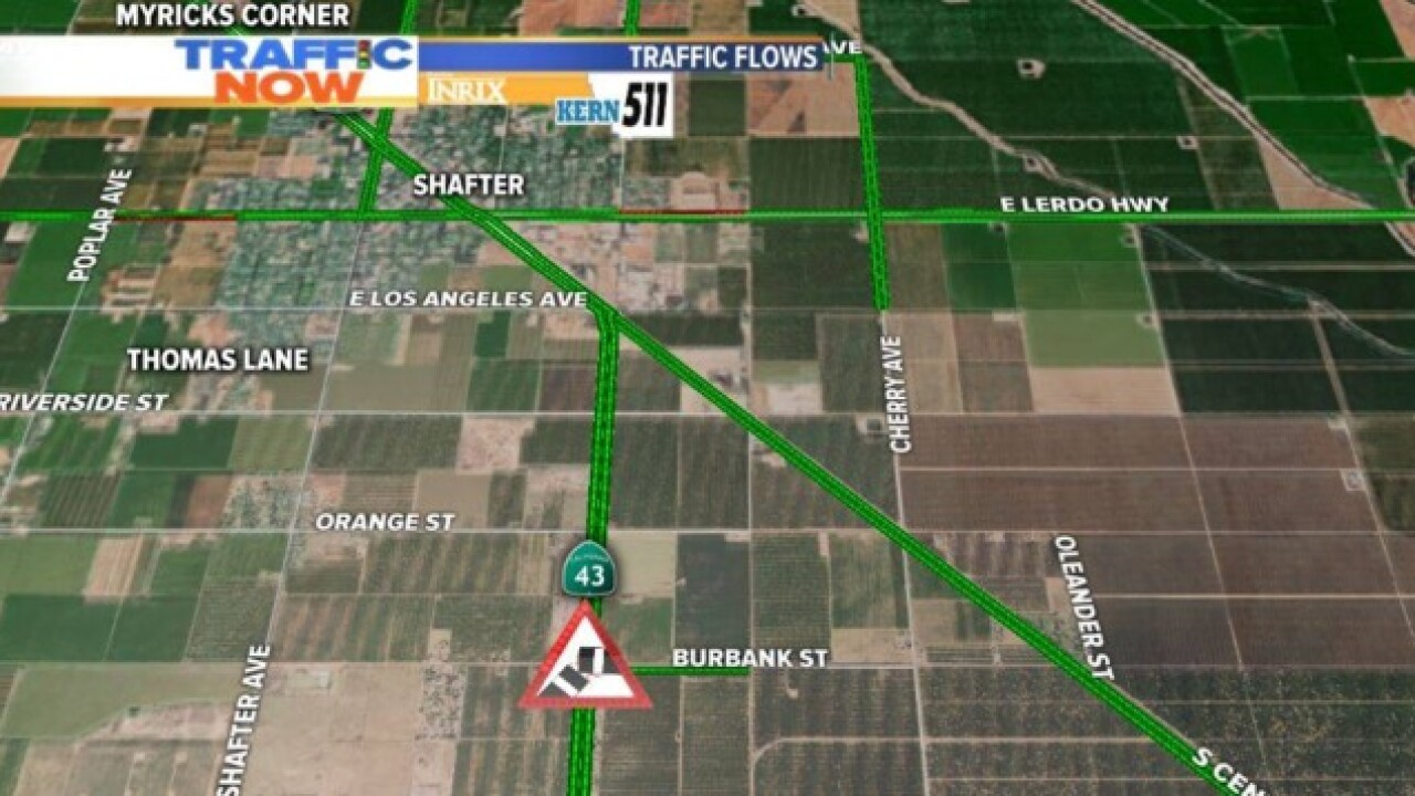 Deadly crash in Shafter