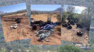 Apache Junction homeless camps