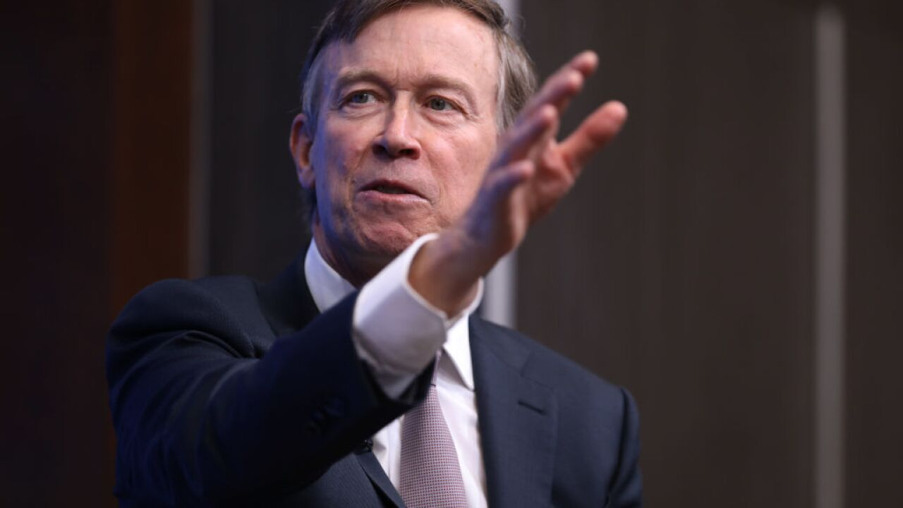 Former Colorado Gov. John Hickenlooper announces 2020 presidential campaign