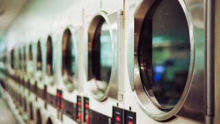 File image of laundry