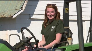 This Dinwiddie farmer wants the world to know girls can drive tractors!