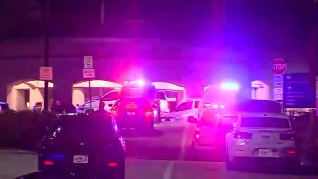 The FBI says a 59-year-old U.S. Army veteran has shot and wounded a doctor just before a mental health evaluation at a U.S. Department of Veterans Affairs hospital in Riviera Beach, Florida.