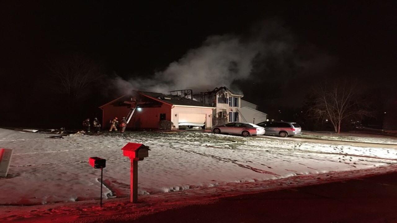 House explosion reported in Northfield