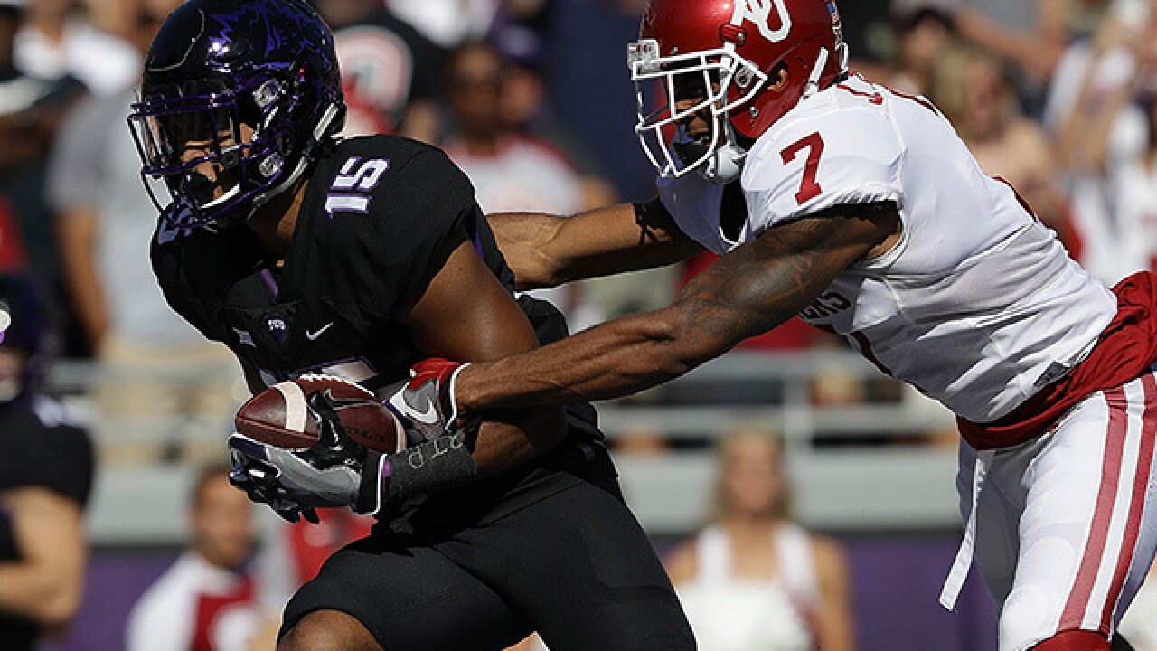 PHOTOS: OU Sooners beat TCU Horned Frogs 52-46