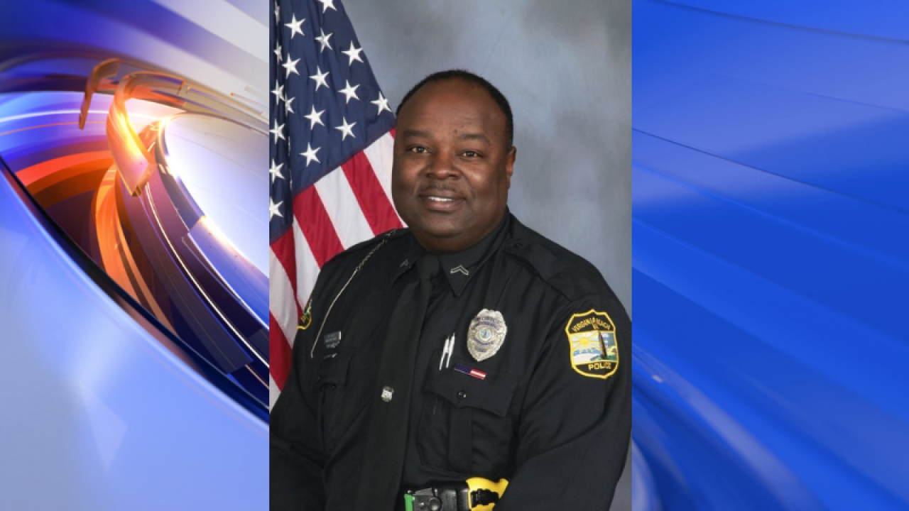 Virginia Beach Police mourns passing of officer