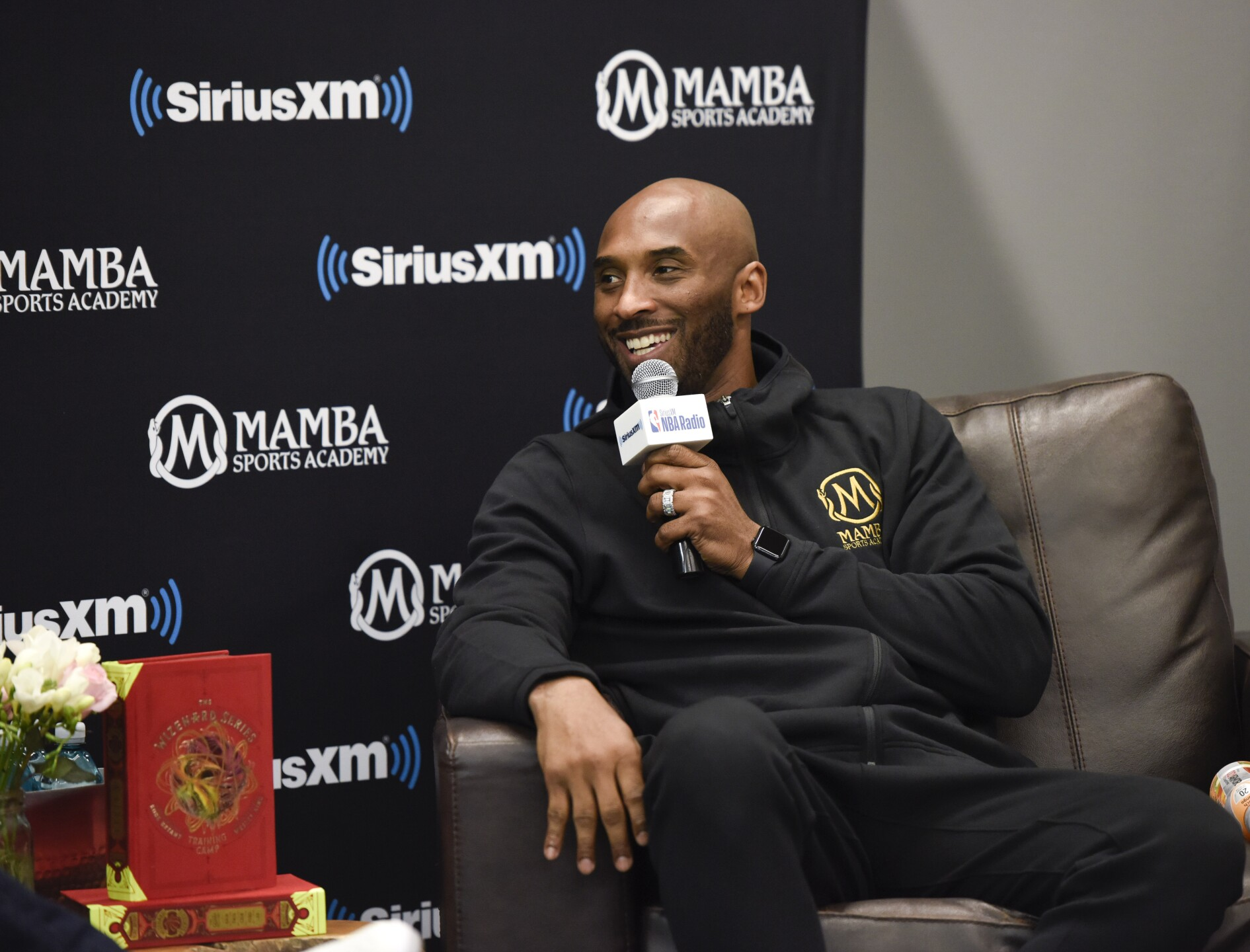 SiriusXM Presents A Town Hall With NBA Legend Kobe Bryant at the Mamba Sports Academy