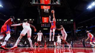 Luke Kennard and Derrick Rose help Pistons over Rockets