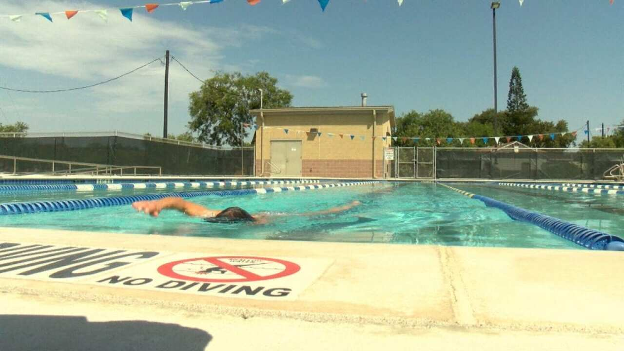 Collier Pool closed rest of week