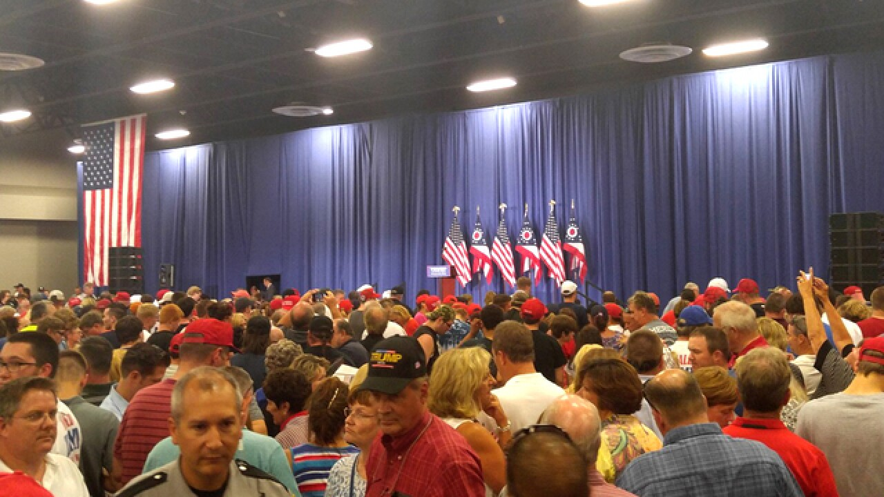 FOLLOW LIVE: Doors opening for local Trump rally