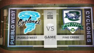 Friday Football Fever Game of the Week: Week 1 - Pine Creek vs. Pueblo West