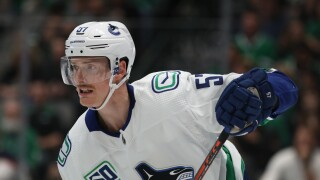 Tyler Myers of the Vancouver Canucks