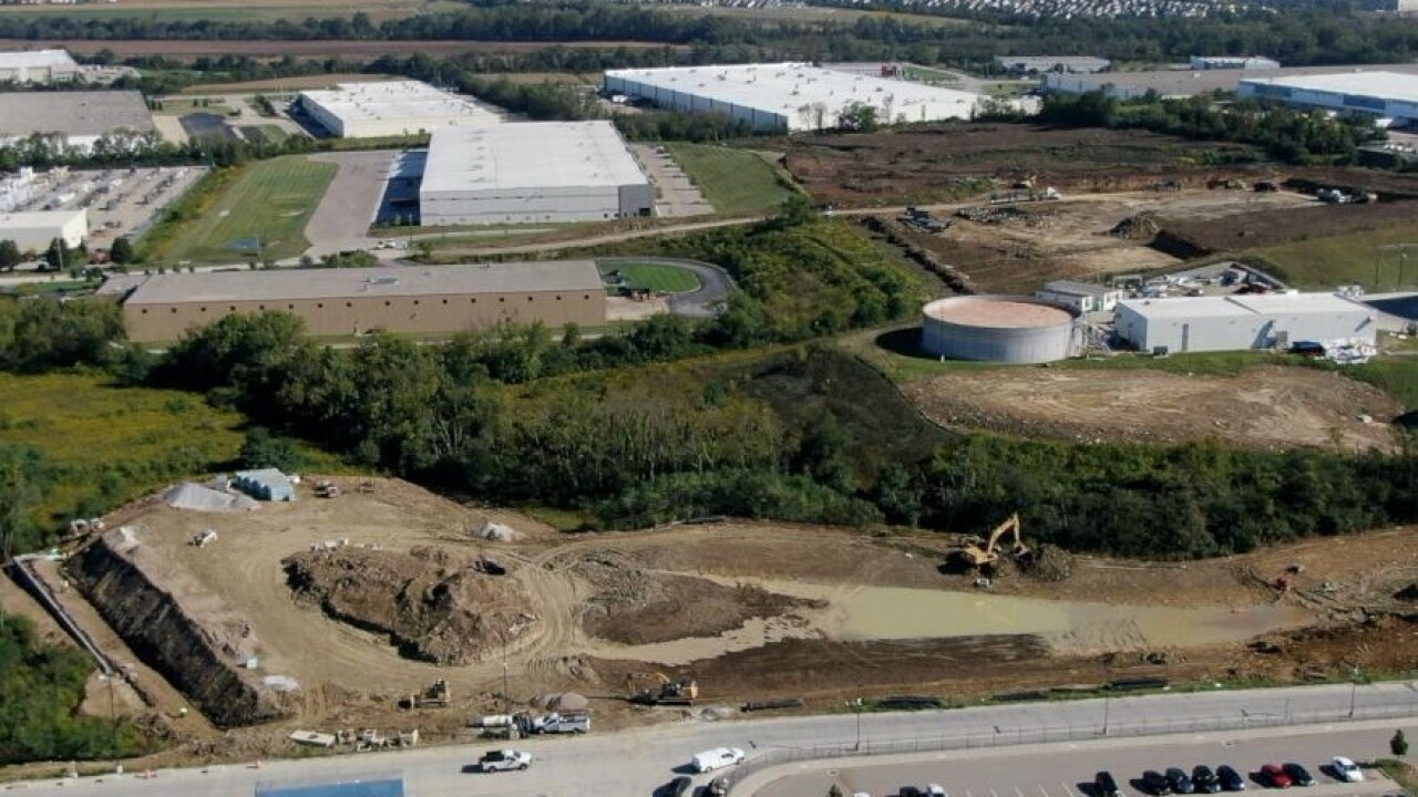 Expansion work has started at Koch Foods in Fairfield.