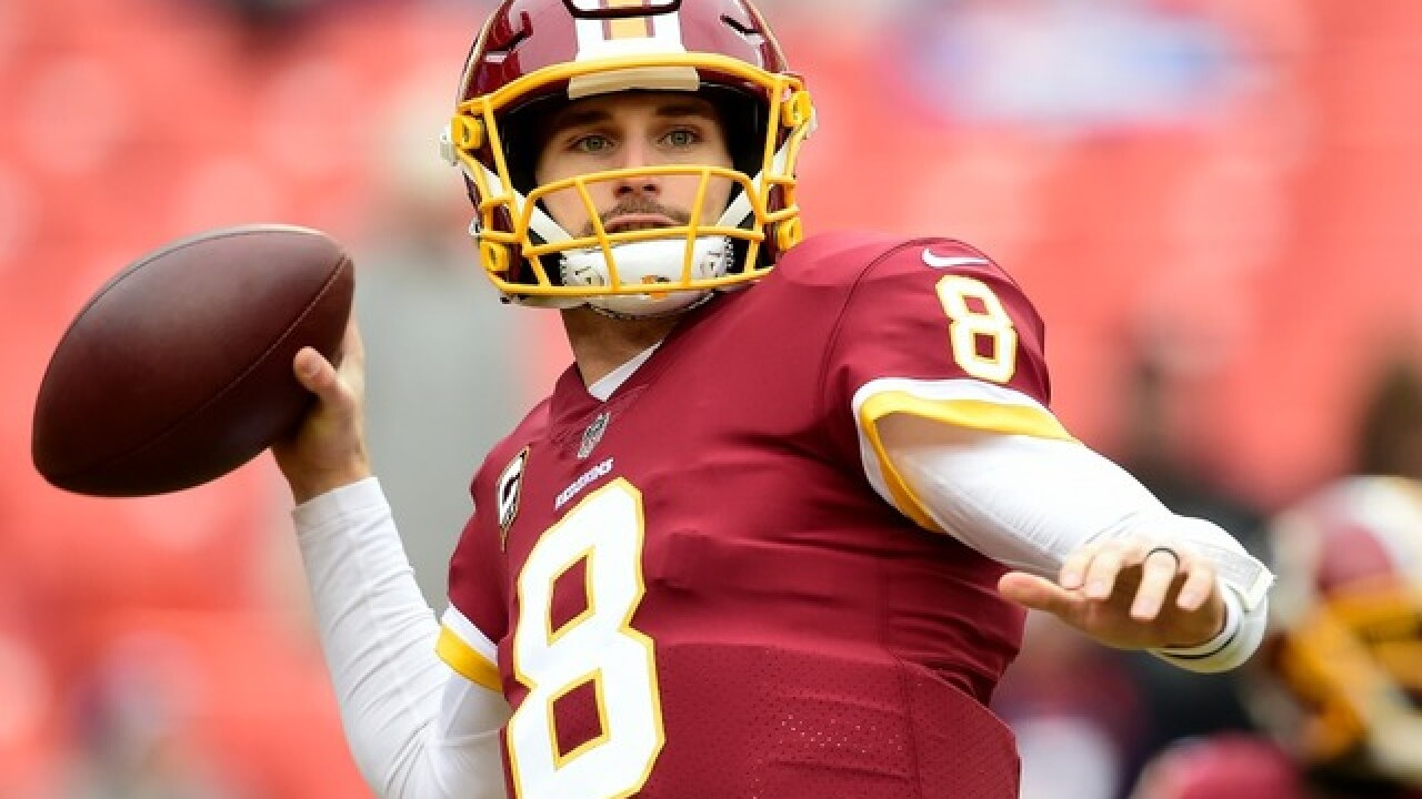 Reports: Prized free-agent quarterback Kirk Cousins to sign with Minnesota Vikings