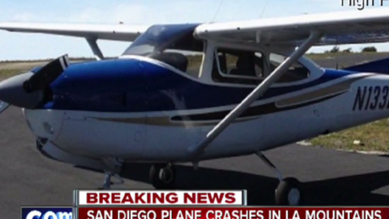 Pilot's body found in plane wreckage in Calif.