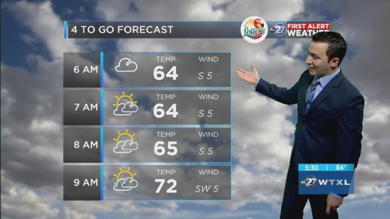 First Alert 4-to-Go Forecast: May 10, 2018