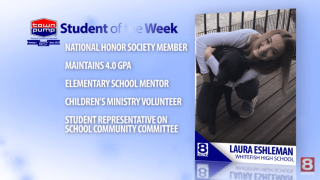 Student of the Week: Laura Eshleman