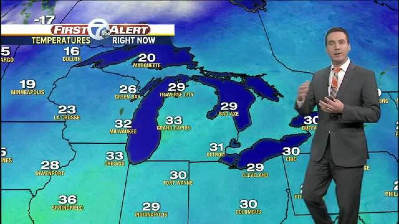 FORECAST: Snow showers today