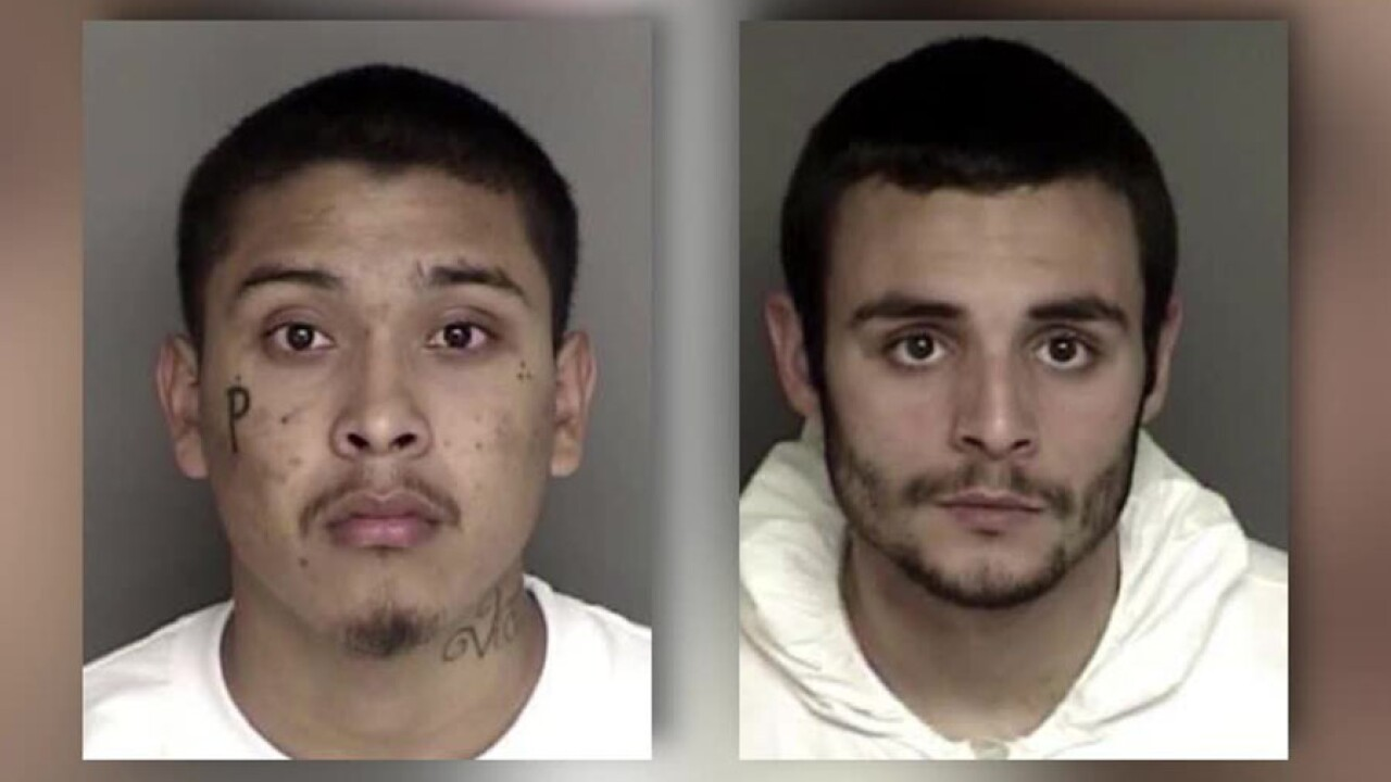 California murder suspects who escaped jail captured at port of entry