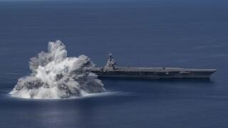 Full Ship Shock Trials 1
