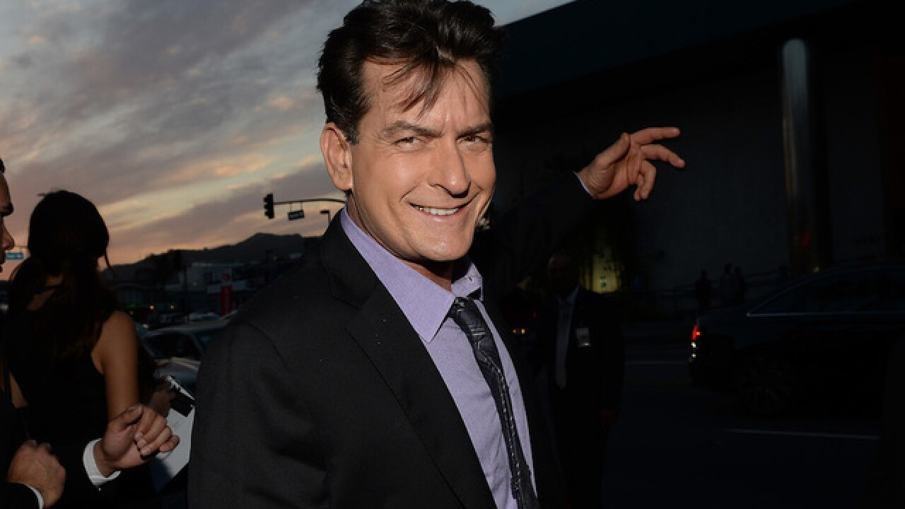 Charlie Sheen tweets 'Dear God; Trump next, please!'