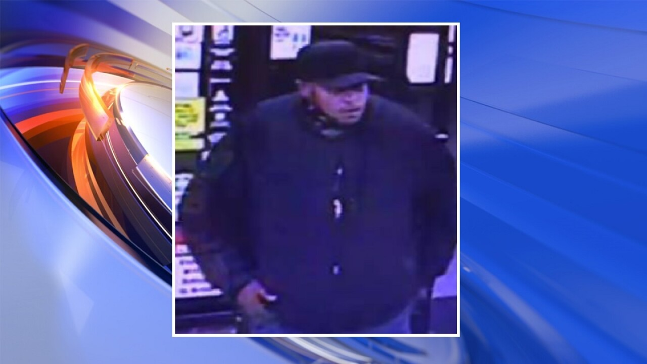Hampton Police looking for suspect who stole car keys from man in 7-Eleven parking lot