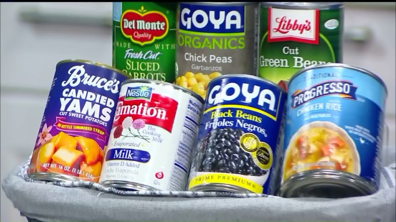 February is National Canned FoodMonth