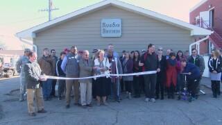 Grace Home Veterans Center hosts ceremony for new shop