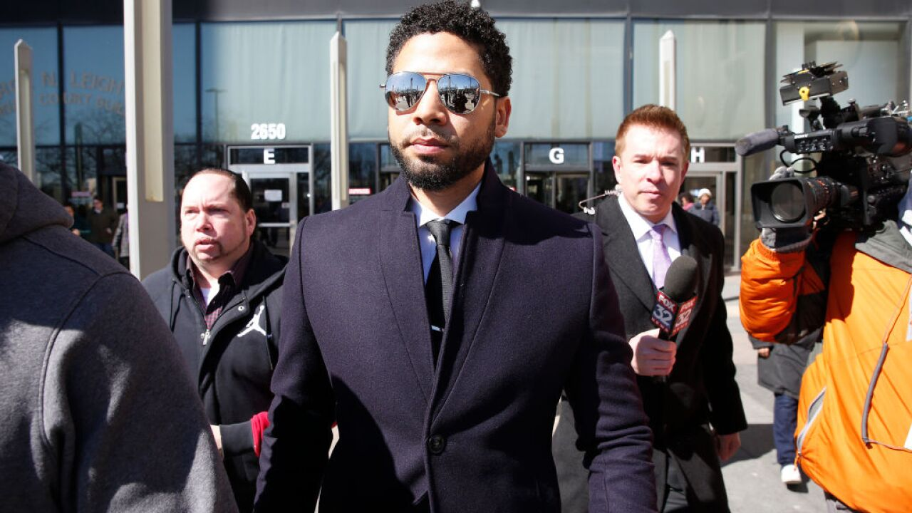 Chicago police release a portion of Smollett investigation reports after his charges are dropped