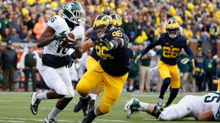 MSU vs UM football