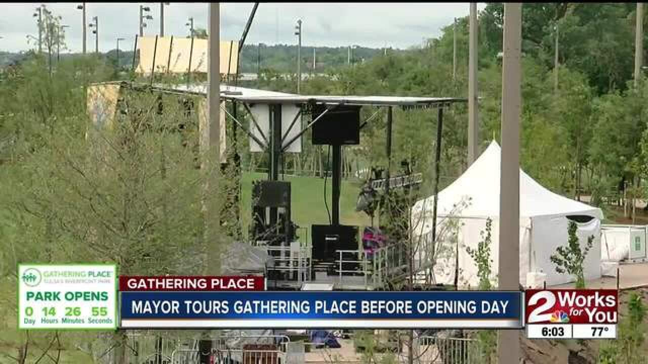 The Gathering Place set to open Saturday