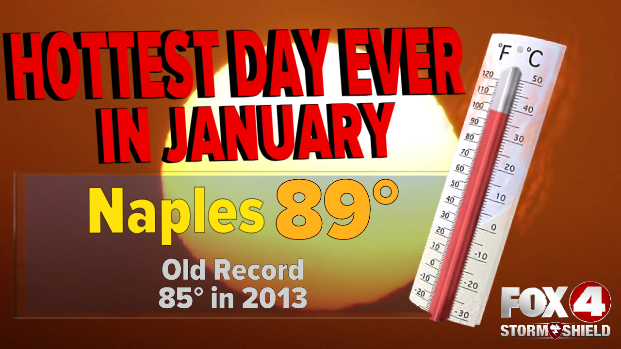 Naples record heat January.png