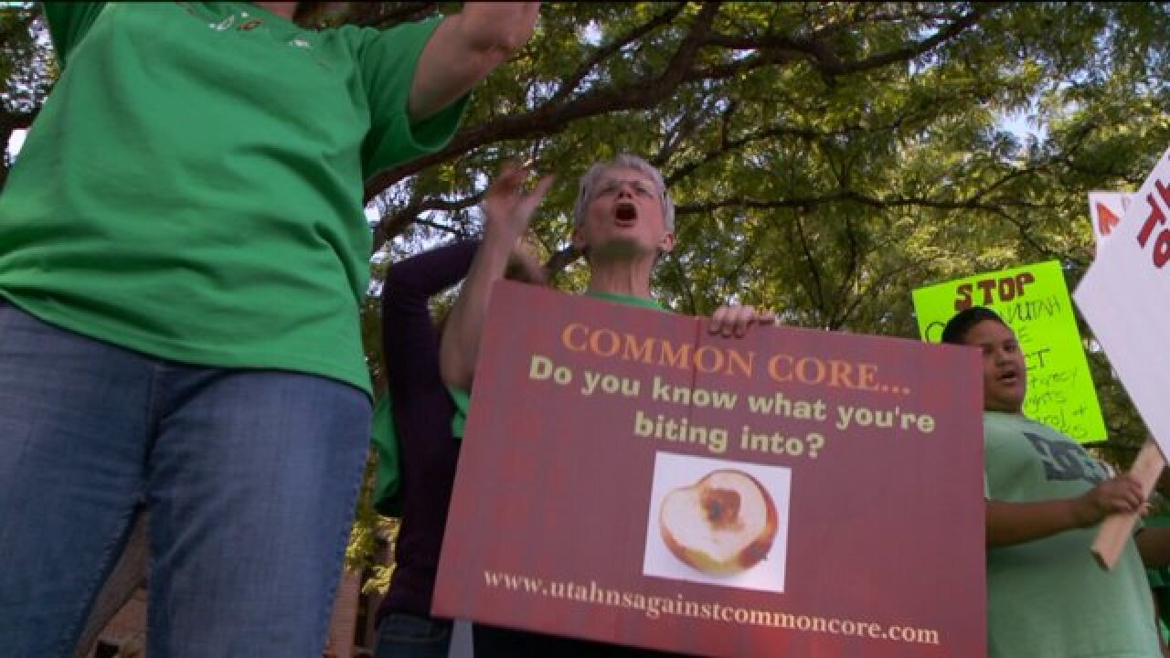Protesters to Common Core gather at state School Board meeting, dissapointed with result