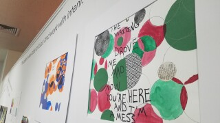 Healing Art exhibition at the Holter Museum of Art