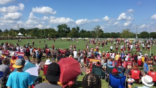 Redskins Training Camp – Day 3