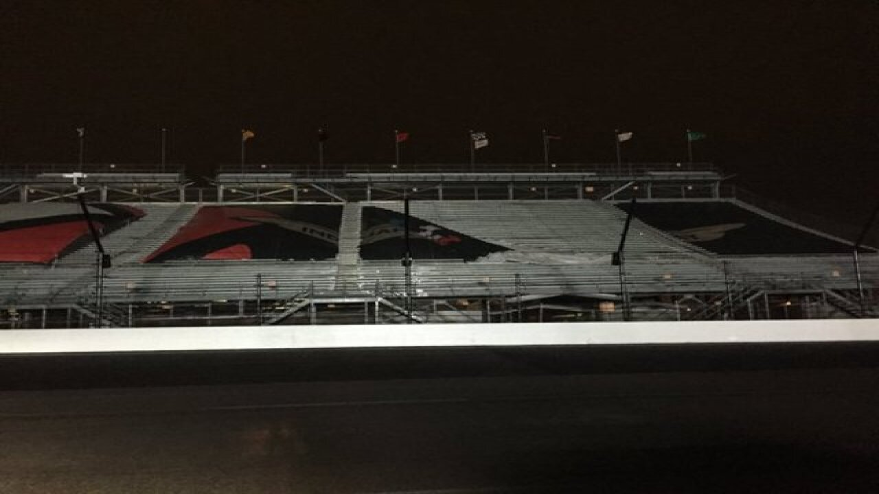 IMS cleans up after Wednesday night storm