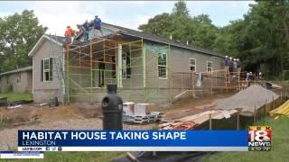 Habitat For Humanity House Just Months Away From Completion