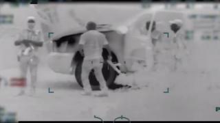 KNXV Armed Men Escort Migrants to Border 4-23-19