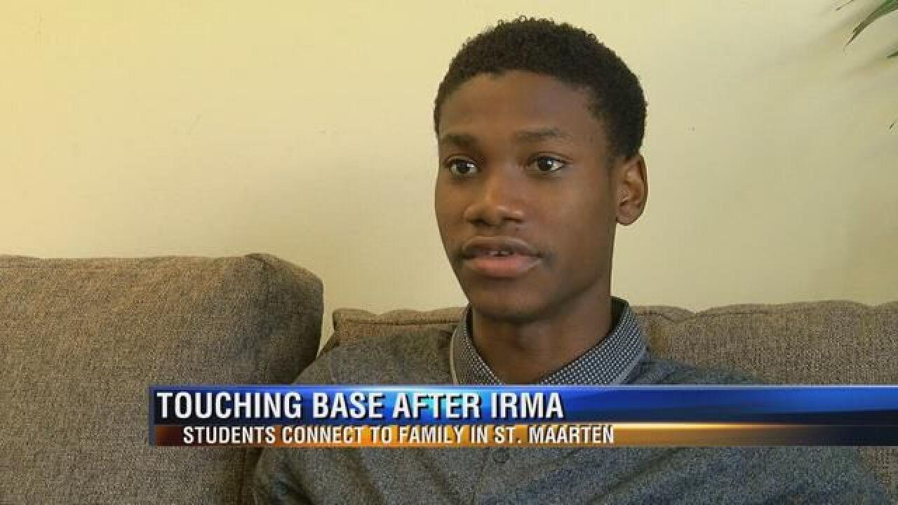 Student from St. Maarten describes Irma devastation