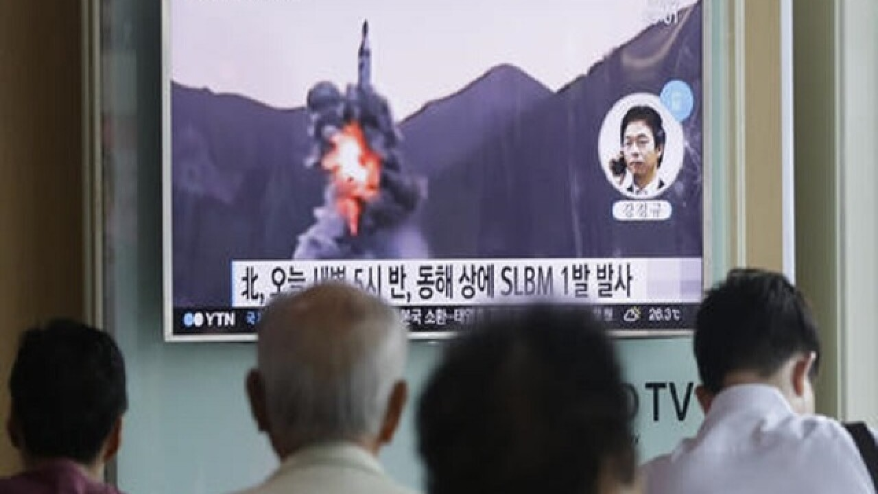 Seoul: North Korea fires submarine-launched missile