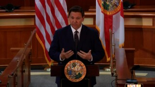 Florida Gov. Ron DeSantis holds a news conference in Tallahassee on Feb. 15, 2021.jpg
