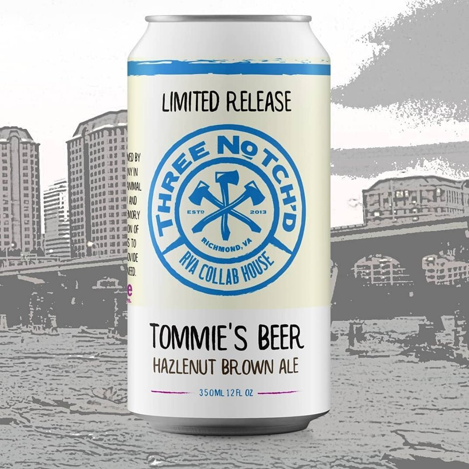 Photos: Brewery creates beer in honor of Tommie the dog to benefit Virginia shelter