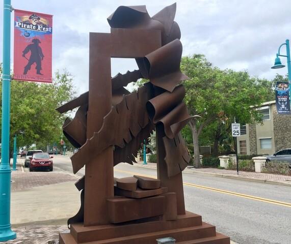 Sculptures installed around Boynton Beach