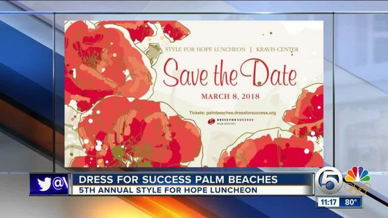 Dress for Success Palm Beaches on March 8
