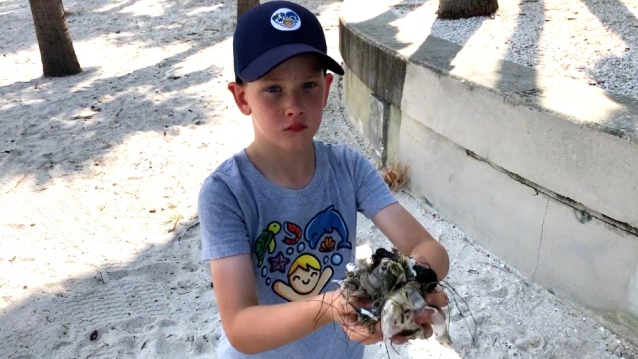 First-grader Starts Lifestyle Brand Kids Saving Oceans To